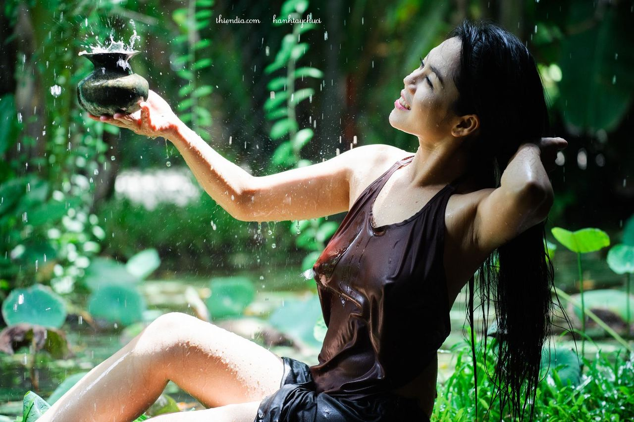 foto cewek cantik, cantik mandi, cewek tanpa busana